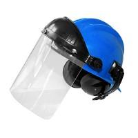 capacete com protetor facial